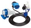 cables de recharge de 3 à 22kW prises T1, T2, T3 pour véhicule électrique et hybride